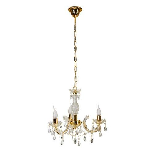 Lampa wisząca maria teresa 3x40w e14 złota 33-94639 marki Candellux