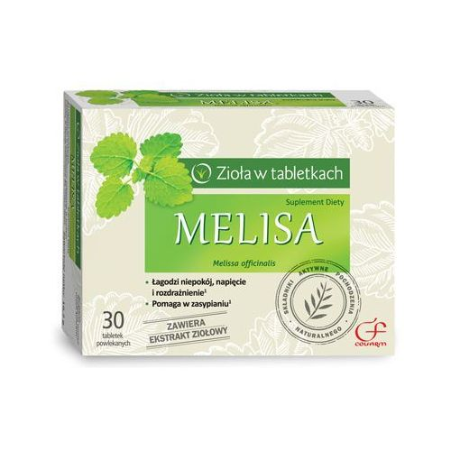 Tabletki Melisa ekstrakt 150mg 30 tabl.