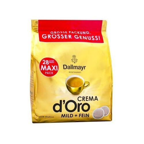 crema d'oro mild & fein senseo pads 28 szt - przecena marki Dallmayr