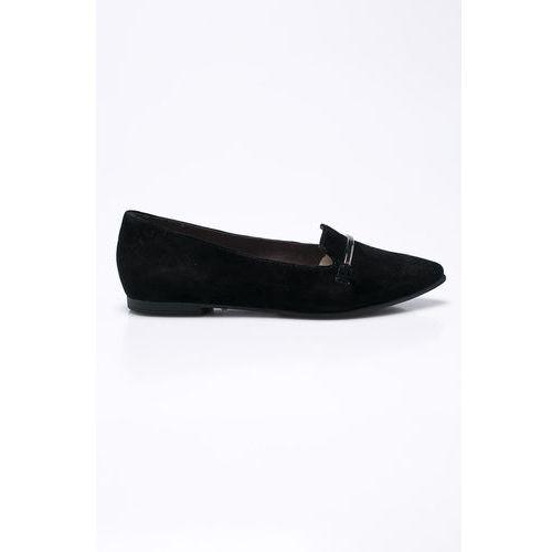 s. Oliver - Baleriny Black Label, kolor czarny