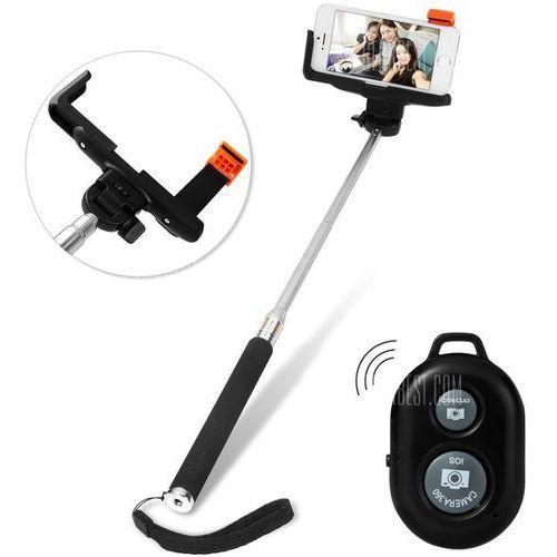Bluetooth Remote Control Camera Shutter Self - Timer Monopod Clip Holder Sets z kategorii Kijki do selfie