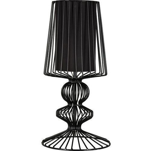 Nowodvorski Lampa stołowa aveiro 5411 s druciana i 1x40w e27 czarna