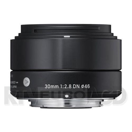 Sigma 30 mm f/2,8 DN A (czarny), OSDMFT30/2.8 A DN