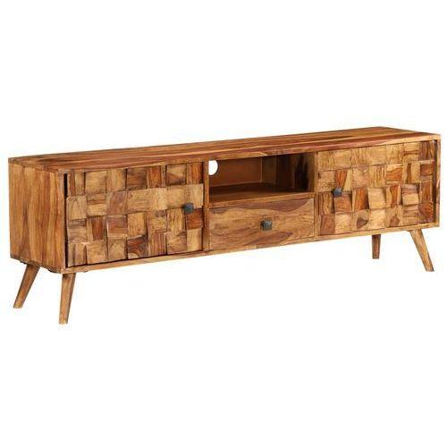 Vidaxl szafka pod tv, drewno sheesham o miodowym wykończeniu (8718475602682)