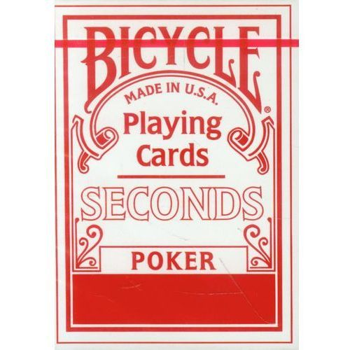 Bicycle Seconds Poker Talia kart (0073854318089)