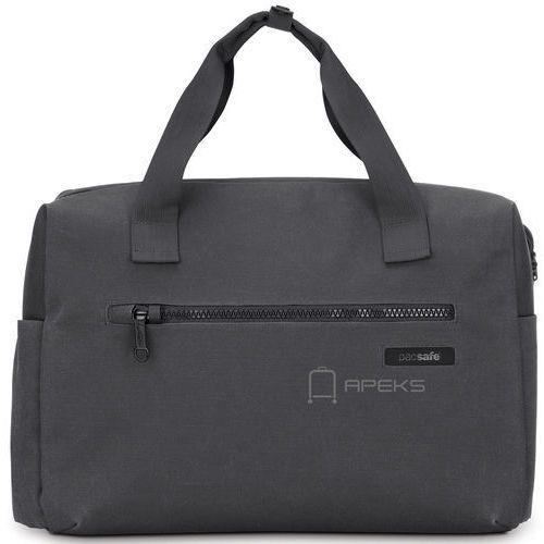 """Pacsafe Intasafe Z Brief torba antykradzieżowa na laptopa 15"""" - Charcoal, kolor szary"""