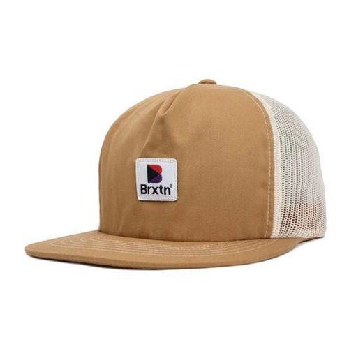 Brixton Czapka z daszkiem - stowell hp mesh cap washed copper (wshcp) rozmiar: os