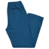 Spodnie - steady elastic wb pant royal blue gingham (rblgi) rozmiar: m marki Brixton