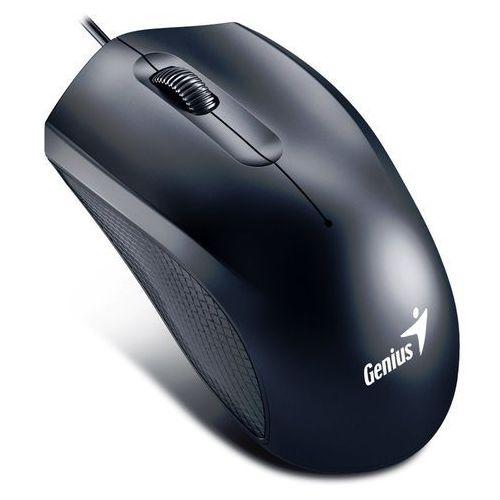 Genius Mysz DX-170, optyczna, 3kl., 1 scroll, przewodowa (USB), czarna, 1000DPI, 31010238100