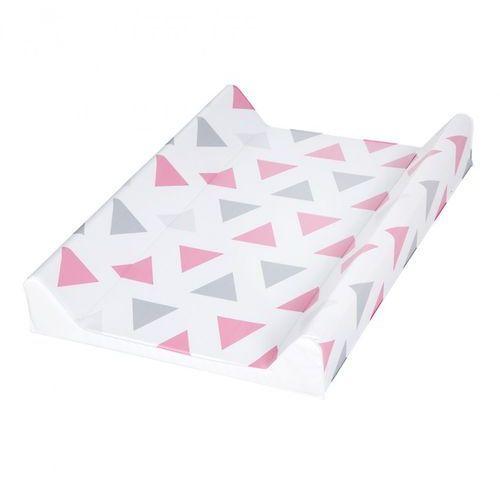 Nadstawka twarda przewijak na łóżeczko - trójkąty marki Klupś