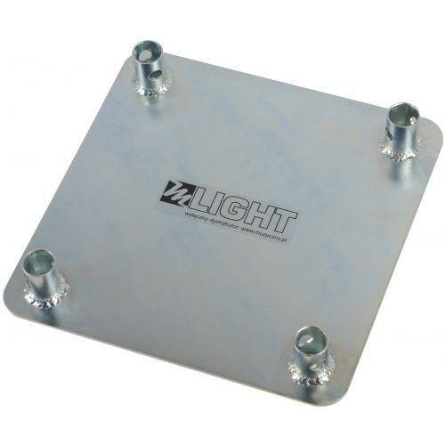 base plate element konstrukcji - stalowa podstawa górna - ocynk marki Mlight