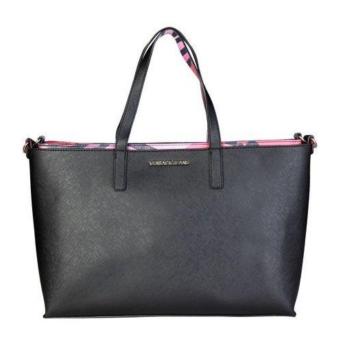 Torebka shopper damska VERSACE JEANS -E1VQBBS1_75465-00, kolor czarny