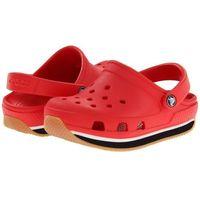 Crocs  kids retro red black czerwono-czarne klapki dla dzieci różne rozmiary