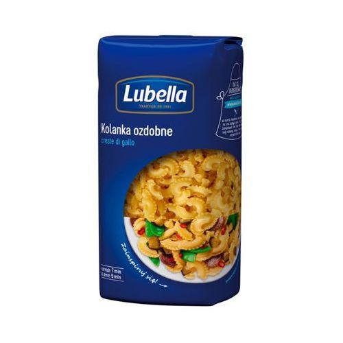500g makaron kolanka ozdobne creste di gallo marki Lubella