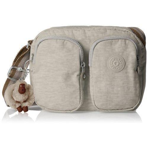 Kipling damski patti torba na ramię, 25 x 19 x 8.5 cm, kolor: beżowy, rozmiar: jeden rozmiar