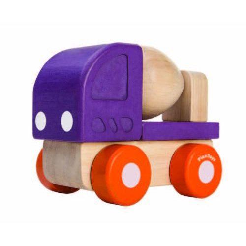 Plan Toys, betoniarka, mini autko - produkt z kategorii- Betoniarki zabawki