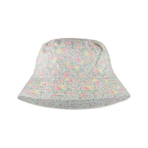 Wheat kapelusz soft melangegrey streifen