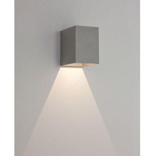 Zewnętrzna LAMPA elewacyjna OSLO 100 7108 Astro metalowa OPRAWA ścienna LED 3W KINKIET minimalistyczny IP65 outdoor srebrny (5038856071085)