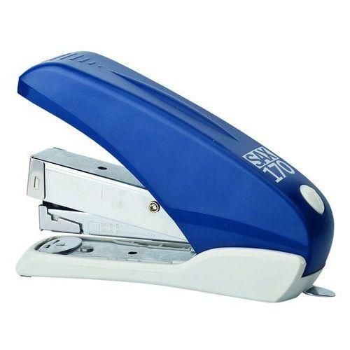 Zszywacz SAX170, zszywa do 40 kartek, front loader, łatwiejsze zszywanie, niebieski