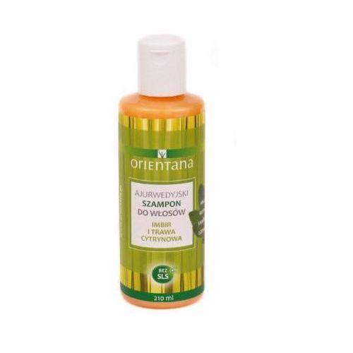 Orientana  - ajurwedyjski szampon imbir i trawa cytrynowa