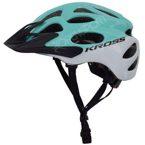 Kask rowerowy kalmo l 58-61cm lazurowy / biały marki Kross