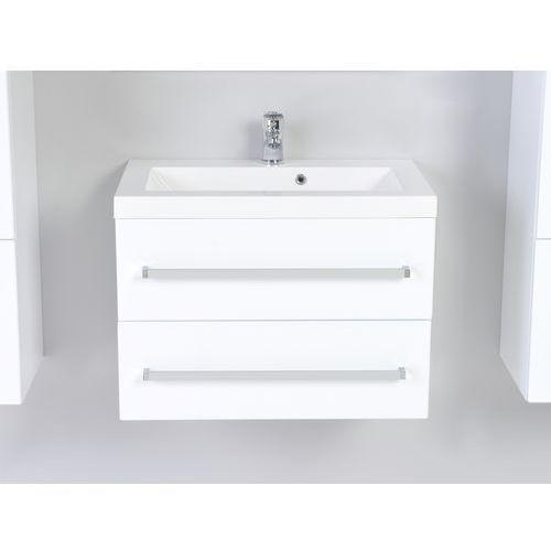 Antado Variete Szafka podumywalkowa wisząca z dwiema szufladami 60x39x40 biały połysk FM-C-442/6/2GT - sprawdź w wybranym sklepie