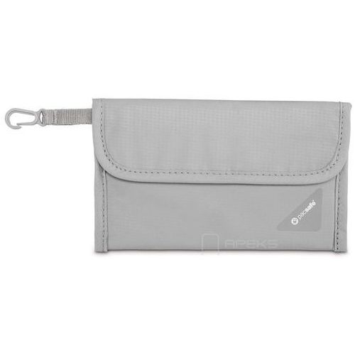Pacsafe coversafe v50 portfel damski / męski / szary - neutral grey