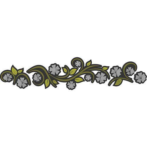 Calleadesign Wieszak ścienny flowers oliwkowo-zielony (13-005-54)