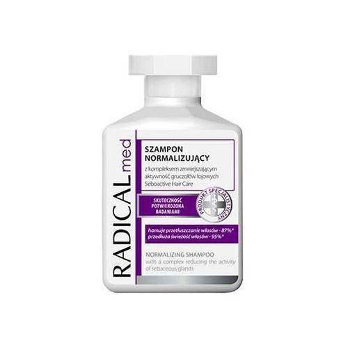 radical med normalize szampon do przetłuszczających się włosów i skóry głowy 300 ml marki Ideepharm