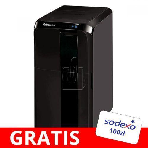 Niszczarka Fellowes AutoMAX 500C - gratis bon Sodexo 100zł, 31091