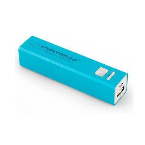 Ładowarka akumulator ESPERANZA POWER BANK ERG 2400mAh - niebieski
