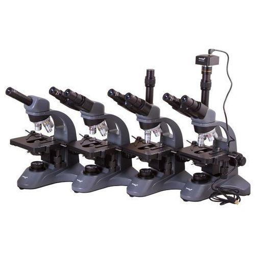 Levenhuk Mikroskop trójokularowy 740t czarny + darmowy transport!