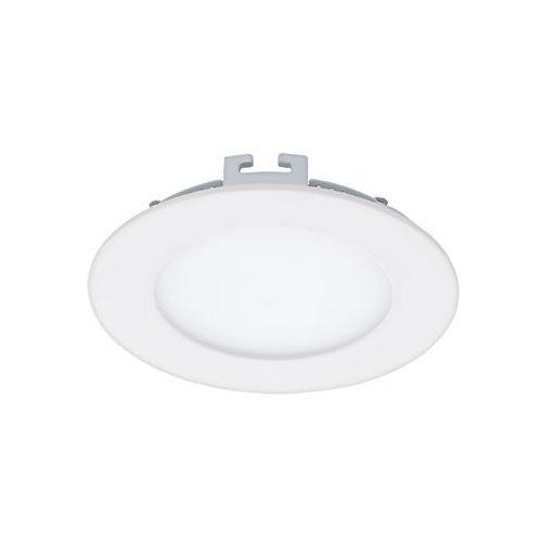 Plafon lampa oprawa wpuszczana downlight oczko Eglo Fueva 1 1x5,5W LED biały okr.94048, 94048