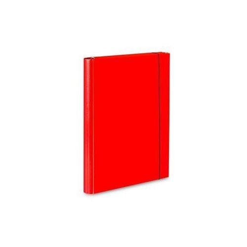 Teczka skrzydłowa z gumką caribic a4 339/21 czerwona marki Vaupe