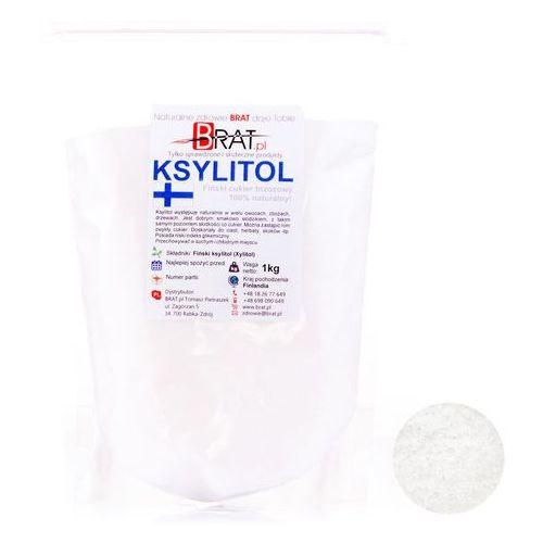 Ksylitol, xylitol (1kg) – cukier brzozowy produkcji fińskiej –  marki Brat.pl