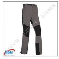 Spodnie trekkingowe męskie MILO BRENTA - grey/black, BRENTA grey/black