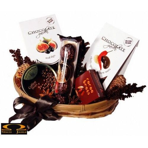 Zestaw upominkowy czekoladowe pozdrowienia marki Smacza jama