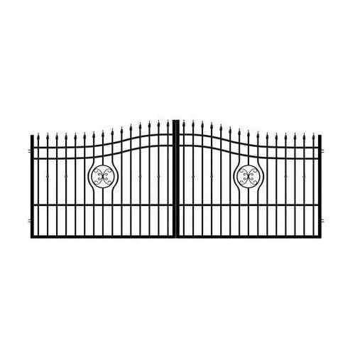 Brama dwuskrzydłowa MALAGA 3 400 cm POLARGOS (5902360107540)