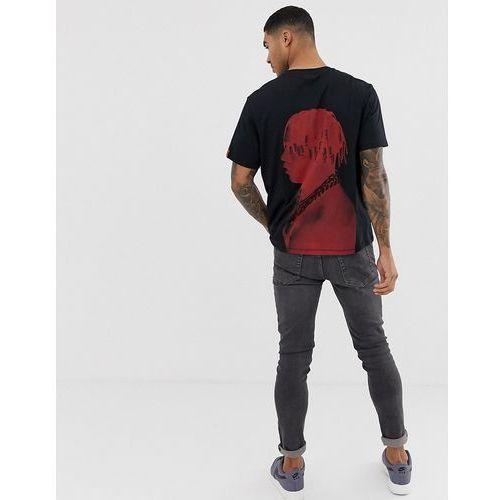 Bershka t-shirt in black with Lil Yachty back print - Black, w 4 rozmiarach