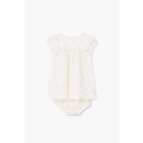 Mango Kids - Komplet dziecięcy (sukienka + majtki) 62-80 cm