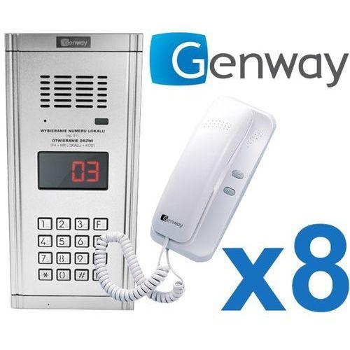 Zestaw domofonowy 8 rodzinny WL-03NL, ZD2492