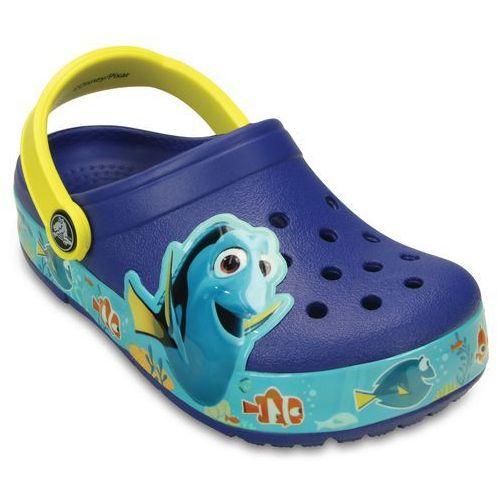 Crocs buty crocslights finding dory clog k cerulean blue/lemon 25-26 (c9)
