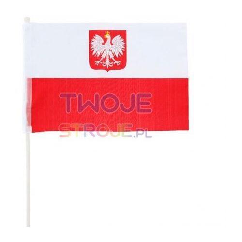 FLAGA BIAŁO-CZERWONA 60 cm, #A934^a