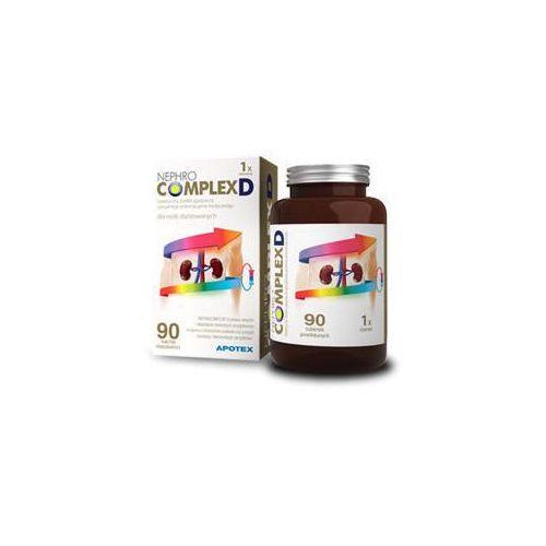 NEPHROCOMPLEXD Witaminy i minerały dla osób dializowanych x 90 tabletek powlekanych