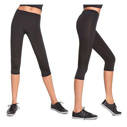 Damskie sportowe spodnie 3/4 BAS BLACK Forcefit 70, L, kolor czarny