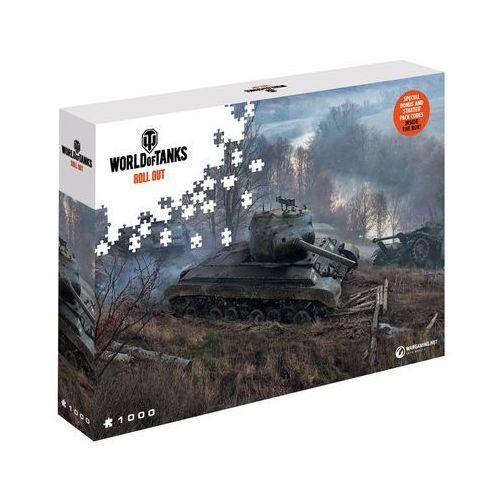 Puzzle World of Tanks Polowanie 1000 elementów. Wargaming On The Prowl - Merlin Publishing DARMOWA DOSTAWA KIOSK RUCHU (5907222426029)