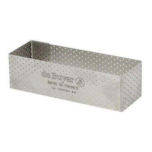 De buyer Rant piekarniczo-cukierniczy prostokątny perforowany - 12x4 cm