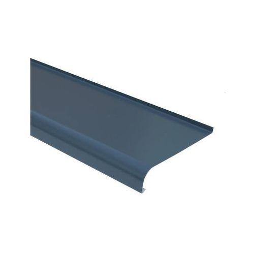 Parapet zewnętrzny STALOWY Grafitowy 25 x 120 cm DOMIDOR (5907479331381)