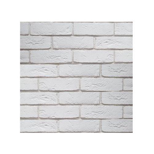Steinblau Kamień elewacyjny lateris biały 21 x 6,6 cm