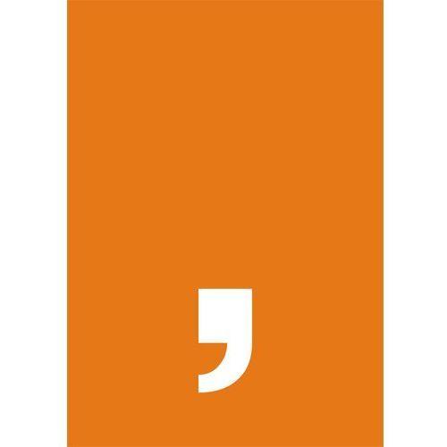Top design Przecinek (biały/pomarańczowy) - OKAZJE